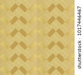 gold metal foil with pattern. ...   Shutterstock . vector #1017446467