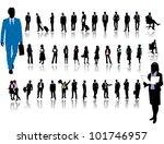 business people | Shutterstock .eps vector #101746957