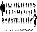 business people | Shutterstock .eps vector #101746963