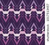 ethnic boho seamless pattern.... | Shutterstock .eps vector #1017513457