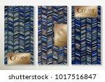 vector set packaging templates... | Shutterstock .eps vector #1017516847
