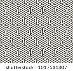 vector seamless pattern. modern ... | Shutterstock .eps vector #1017531307