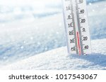 wintertime. winter background... | Shutterstock . vector #1017543067