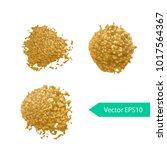acryl paint texture stain dub.... | Shutterstock .eps vector #1017564367