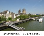 koeln  germany   circa august... | Shutterstock . vector #1017565453