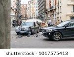 paris  france   jan 30  2018 ... | Shutterstock . vector #1017575413
