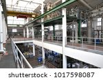 industrial plant  chemical... | Shutterstock . vector #1017598087