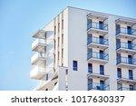 facade of a modern apartment...