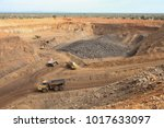 open pit manganese mining and... | Shutterstock . vector #1017633097