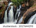 little millstream falls near... | Shutterstock . vector #1017644293
