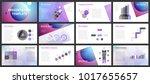 business presentation templates.... | Shutterstock .eps vector #1017655657