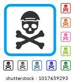 enjoy mortal skull vector icon. ... | Shutterstock .eps vector #1017659293