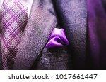 close up of elegant businessman ... | Shutterstock . vector #1017661447