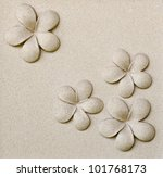 Pattern Of Decorative Sand...