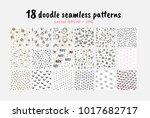vector seamless patterns...