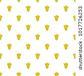 corn pattern seamless in flat... | Shutterstock .eps vector #1017726253