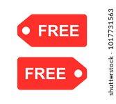 free label set vector | Shutterstock .eps vector #1017731563
