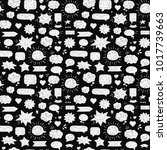 seamless hand drawn pattern.... | Shutterstock .eps vector #1017739663