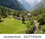 aerial view of the mello valley ... | Shutterstock . vector #1017745633