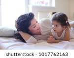 Small photo of Mommy and me every morning share love to etch other.