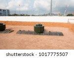 underground fuel tank used in... | Shutterstock . vector #1017775507