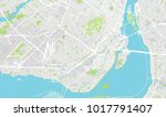 urban vector city map of... | Shutterstock .eps vector #1017791407