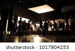 behind the scenes of video...   Shutterstock . vector #1017804253