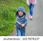 editorial use only  cute child...   Shutterstock . vector #1017878137