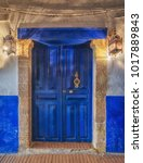 Old Traditional Doorway With...