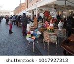 ferrara  italy   february 4 ... | Shutterstock . vector #1017927313