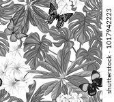 seamless pattern  background... | Shutterstock .eps vector #1017942223