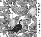 seamless pattern  background... | Shutterstock .eps vector #1017942247