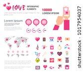 Valentines Day Infographic Set...