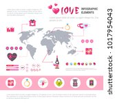 Love Banner Infographic Set Of...