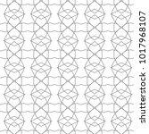 seamless geometric ornamental... | Shutterstock .eps vector #1017968107