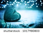 valentines hearts background | Shutterstock . vector #1017980803