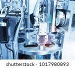 robotic machine tool in...   Shutterstock . vector #1017980893