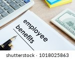 document with title employee... | Shutterstock . vector #1018025863