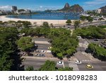 view of sugarloaf mountain from ... | Shutterstock . vector #1018098283