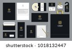 corporate identity branding... | Shutterstock .eps vector #1018132447