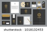 corporate identity branding... | Shutterstock .eps vector #1018132453
