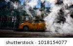 new york  usa   sep 23  2017 ... | Shutterstock . vector #1018154077