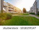 Modern Apartment Buildings In ...