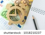 time for invest  tax and debt... | Shutterstock . vector #1018210237