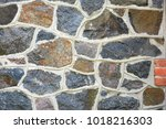 Stone Wall Of The Old Mill Of...