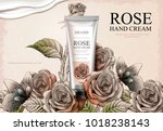 Rose Hand Cream Ads  Exquisite...