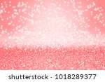 fancy coral pink  peach and...   Shutterstock . vector #1018289377