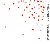 grunge heart background for... | Shutterstock .eps vector #1018307017