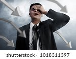business man failure | Shutterstock . vector #1018311397