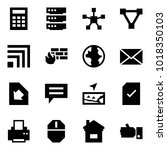 origami style icon set  ... | Shutterstock .eps vector #1018350103